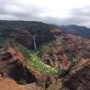 Waimea Canyon Hiking Kauai HI