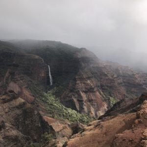 Waimea Canyon waterfalls hiking tour